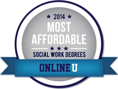 Social Work top 10 degree